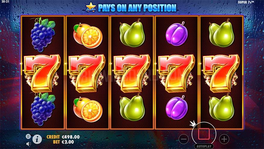 วิธีกเล่น Super7s เกมสล็อตออนไลน์ บนเว็บ SBBOET